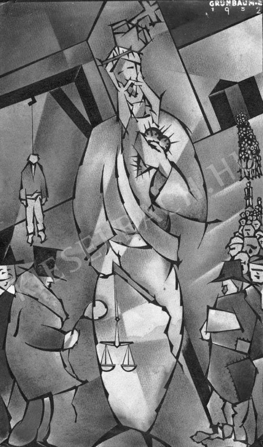 Grünbaum, Ede - Judgement Day, 1932 | Auction of Photos and Works on Paper auction / 34 Item