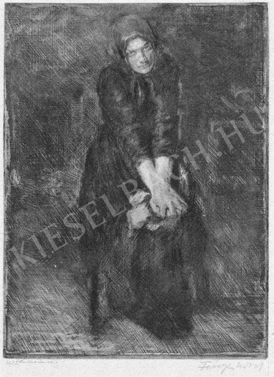 Fényes, Adolf - Widow | Auction of Photos and Works on Paper auction / 36 Item