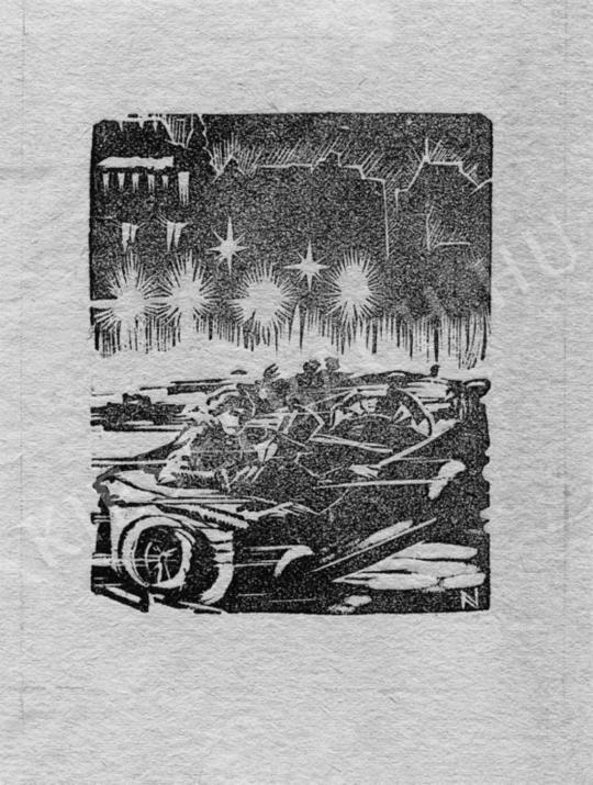 Nagy, Árpád - Car Race, 1931 | Auction of Photos and Works on Paper auction / 38 Item