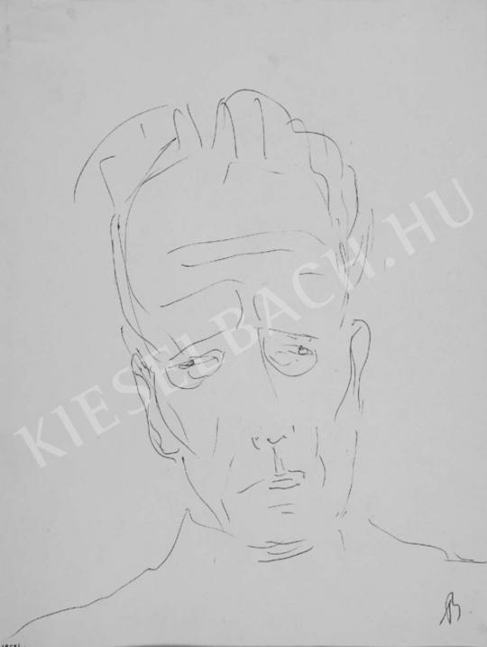 Bernáth, Aurél - Self-Portrait, 1958 | Auction of Photos and Works on Paper auction / 41 Item