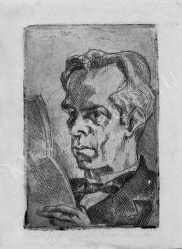 Kmetty János - Olvasó férfi, 1926