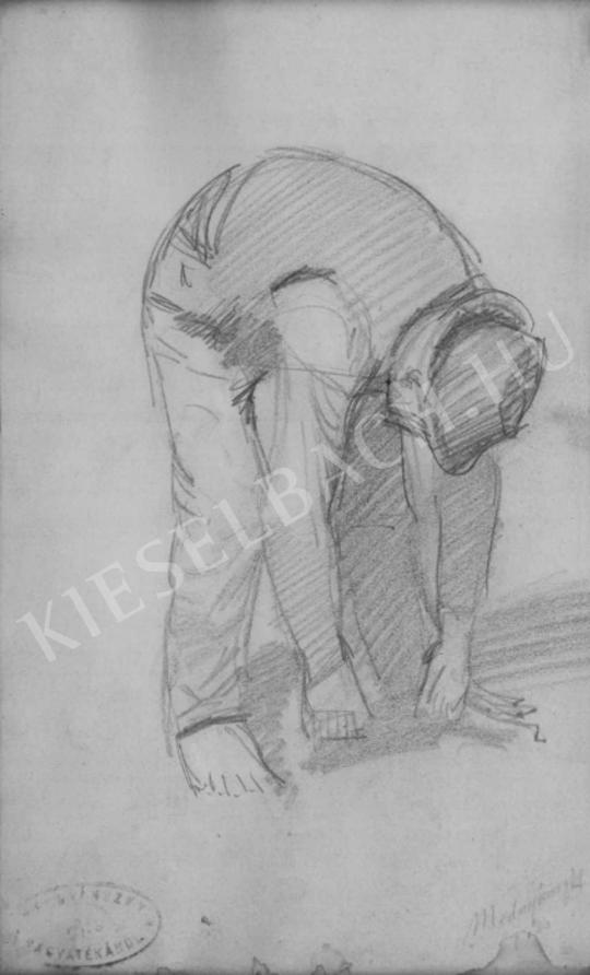 Mednyánszky, László - Leaning to the Ground | Auction of Photos and Works on Paper auction / 46 Item