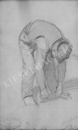 Mednyánszky, László - Leaning to the Ground