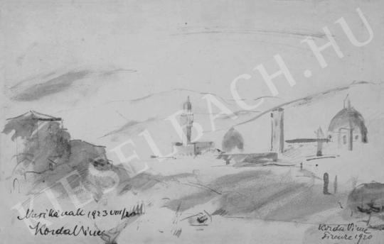 Korda Vince - Firenze látképe | Fotó- és grafikai aukció aukció / 47 tétel