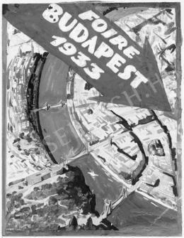 Jeges Ernő - Plakátterv IV., 1933