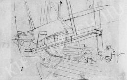 Mednyánszky, László - Sailing Boats, 1900s