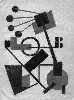 Bortnyik Sándor - Képarchitektúra, 1921, Lap a Ma-albumból