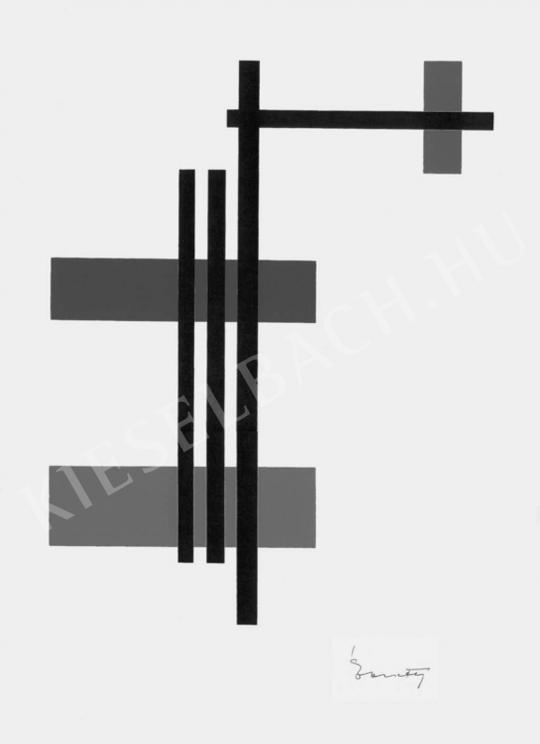 Ébneth Lajos - Kompozíció | Fotó- és grafikai aukció aukció / 79 tétel
