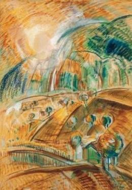 Egry József - Szőlőhegy (Szőlők) (1935 körül)