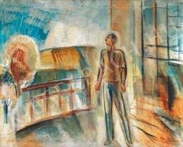 Egry József - Teraszon (1930-as évek)