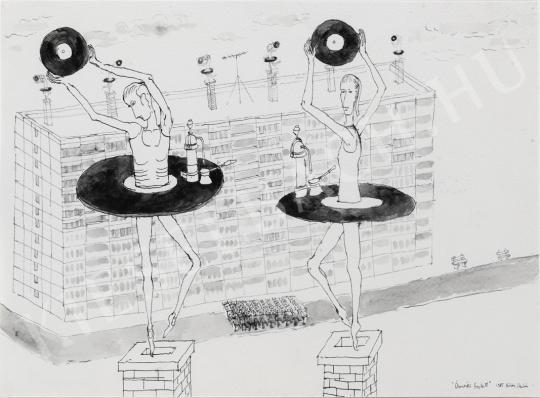 Böröcz András - Őrmezői balett festménye