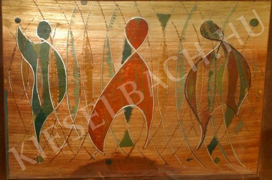 Gyarmathy, Tihamér - Characters painting