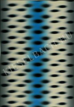 Hencze Tamás - Dinamikus struktúra (kék) (1970)
