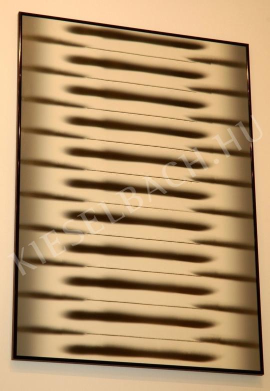 Hencze Tamás - Horizontális struktúra festménye