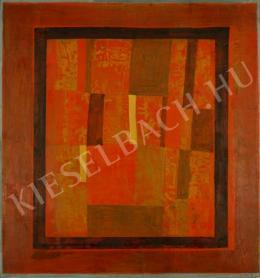 Klimó Károly - Cím nélkül (Zománcterv) (1975)