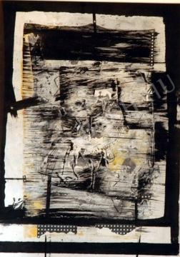 Klimó, Károly - Locked in Bernstein painting