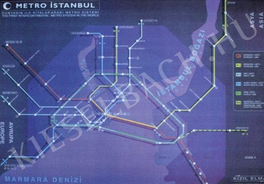 Lakner, Antal - Metro Istanbul, 1997 painting