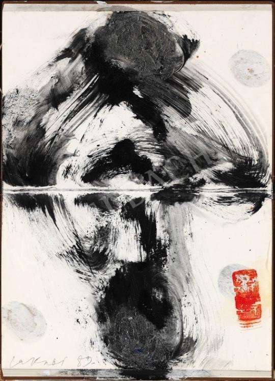 Lakner, László - Bookobject painting