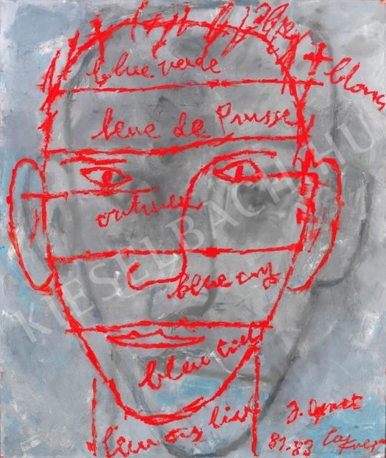 Lakner, László - Twin Head painting