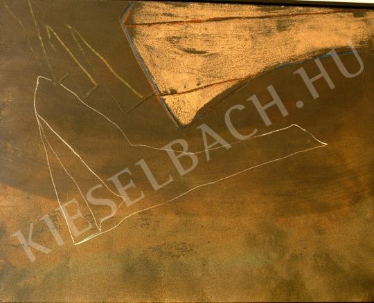 Nádler, István - Feketebács Knokke Zoute No.XII., 1988 painting