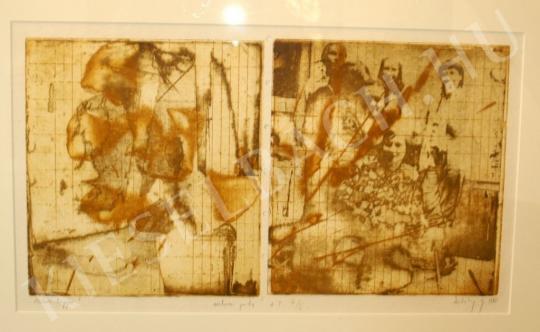 Záborszky, Gábor - Leaves of my Life painting