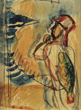Egry József - Balatoni halász, 1932