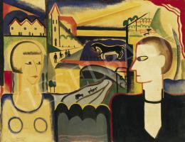 Rafael, Győző Viktor - Modern Adam and Eve (Man and Woman), 1927