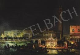 Grubacs, Giovanni - Velence a Dózse-palotával és a Szent Márk térrel