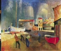Patkó Károly - Olasz halászok (1929)