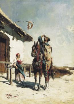 Pataky László - Lovas, 1884