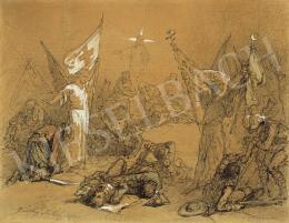 Zichy Mihály - Vörös kereszt, 1901
