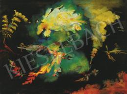 Almásy Aladár - Platón, néhai madár elégetést végez, 1983