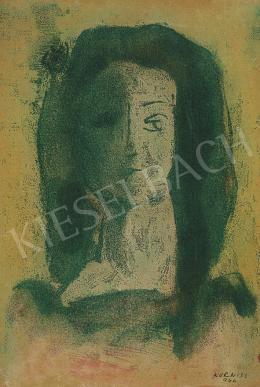Korniss Dezső - Női fej, 1944