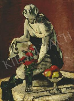 Lehel, Mária - Still-life with Sculpture