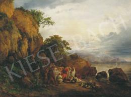 Id. Markó, Károly sr. - Landscape with Historical Scene, 1832