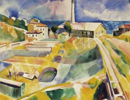 Patkó Károly - Olasz táj, 1930 körül
