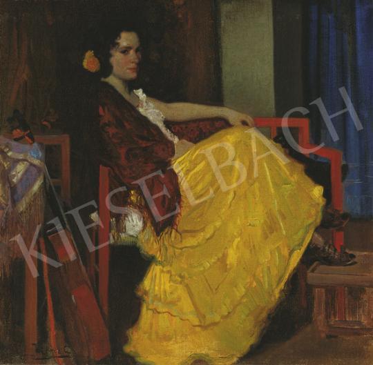 Herrer Cézár - Spanyol szépség | 35. Aukció aukció / 131 tétel