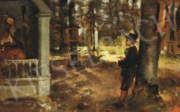 Basch Gyula - A kertben