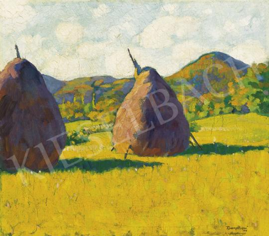 Tipary, Dezső - Stacks in Nagybánya, 1912 | 35th Auction auction / 147 Item