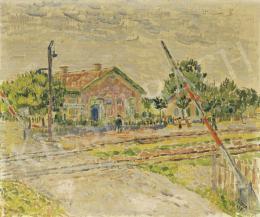 Czimra Gyula - Rákosligeti sorompó, 1938