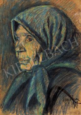 Nagy István - Kékkendős asszony (1917)