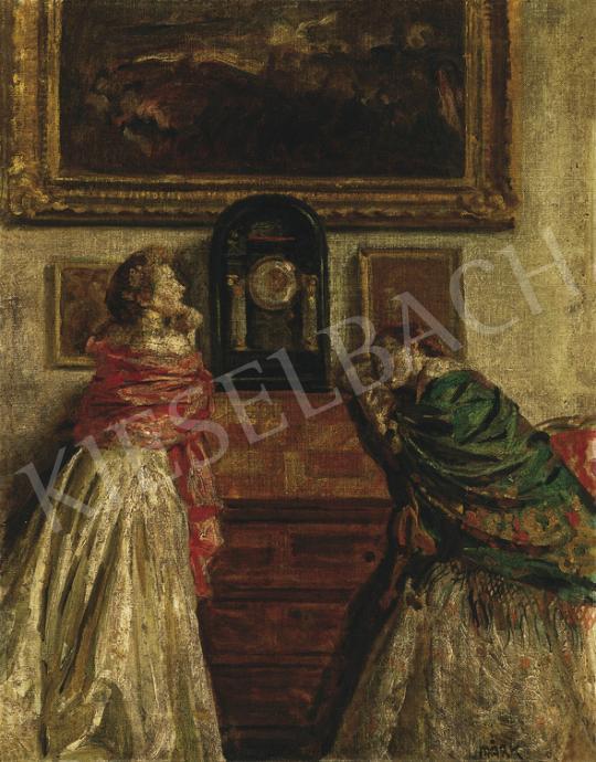 Márk Lajos - Hölgyek a szalonban | 35. Aukció aukció / 183 tétel