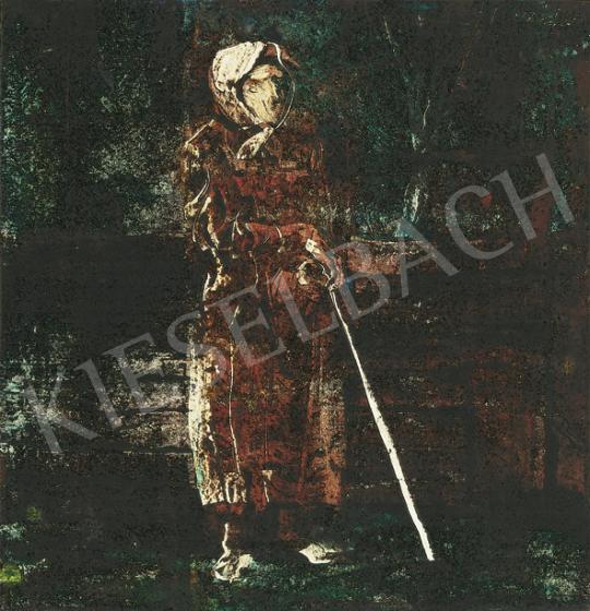 Szász Endre - Várakozás | 35. Aukció aukció / 201 tétel