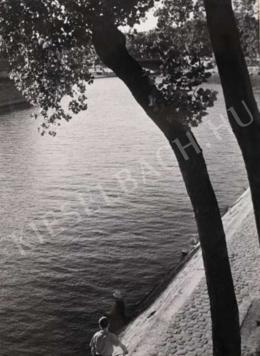Reismann János - Szajna-part, Párizs, 1946