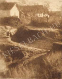 Kerny István - Kerepes látképe, 1920 körül