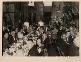 Munkácsi Márton - Az Úrvezető című lap vacsorája, 1927