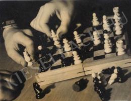 Pöltinger Gusztáv - Sakkozók, 1933