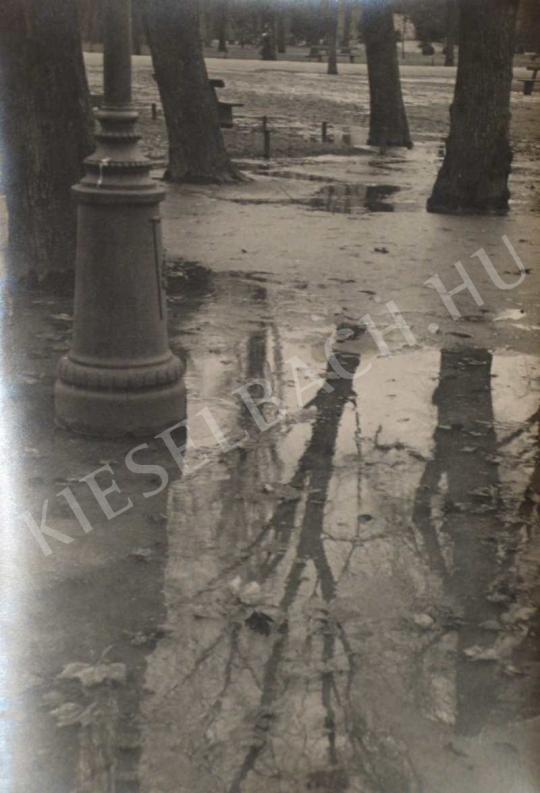 Danassy Károly - Eső után (Városliget), 1937 körül | Fotóaukció 2007 aukció / 33 tétel