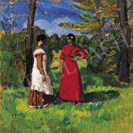 Iványi Grünwald Béla - Kecskeméti lányok (1912 körül)