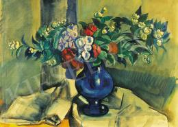 Kohán, György - Still Life with a Blue Vase